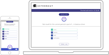 Astronaut web app