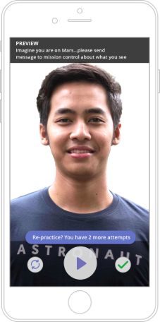 Astronaut mobile app